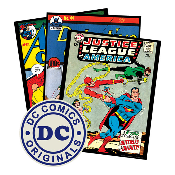 Vintage DC Art Prints (11x14 assorted prints)