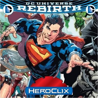 DC Heroclix: DC Rebirth Booster