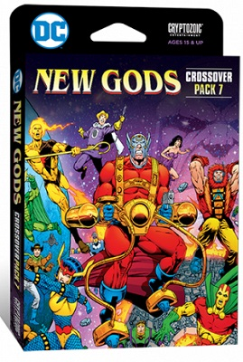 DC Comics Deck Building Game: Crossover Pack 7: New Gods Expansion