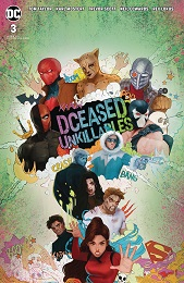 Dceased: Unkillables no. 3 (2020 Series) (Card Stock Horror Variant)