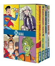 DC Graphic Novels For Kids Box Set