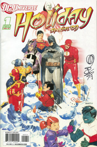 DC Universe Holiday Special (2009) One Shot - Used