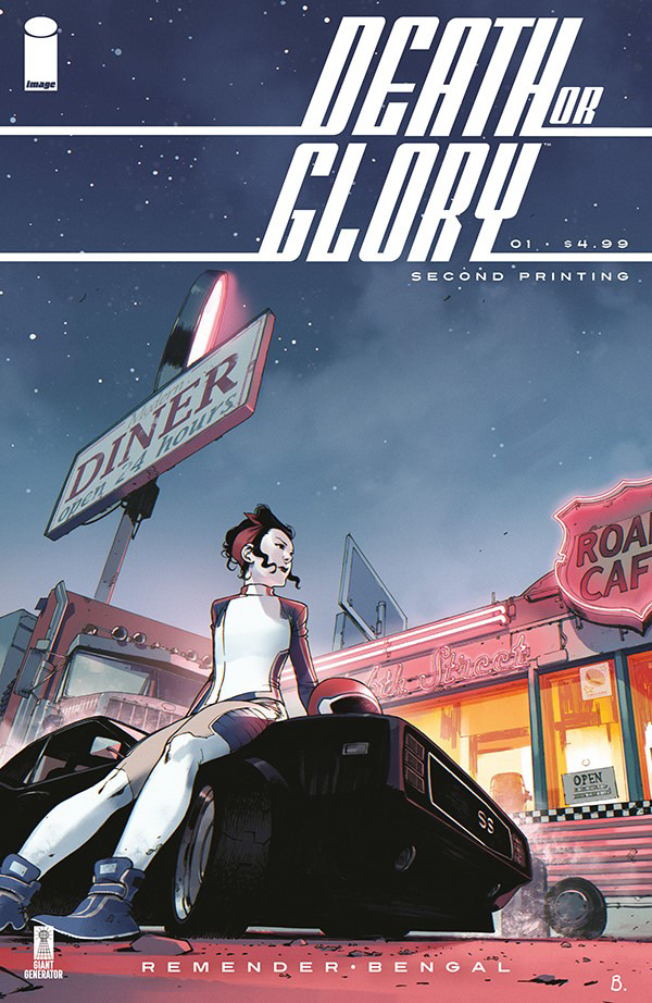 Death or Glory no. 1 (2018 series) (MR) 2nd Printing