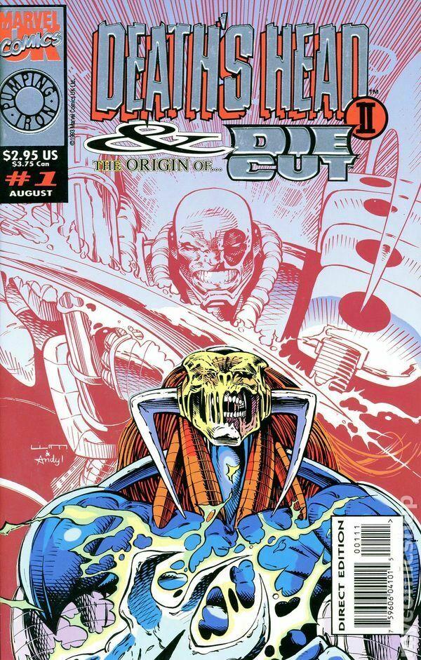Death's Head II and the Origin of Die Cut (1993) Complete Bundle - Used