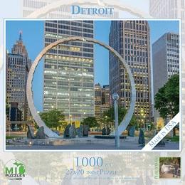 Detroit Puzzle (1000 Pieces)