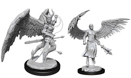 Dungeons and Dragons Nolzurs Marvelous Unpainted Minis Wave 13: Deva and Erinyes