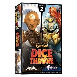 Dice Throne: Season One: Monk Vs. Paladin