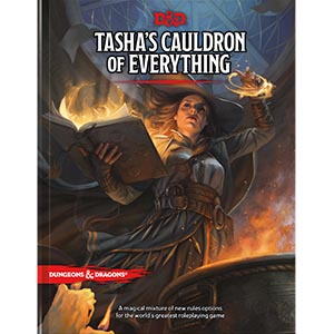 Dungeons and Dragons 5th Ed: Tasha's Cauldron of Everything HC (Standard Ed)