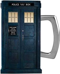 Doctor Who Season 11 Tardis 18 oz. Oval Ceramic Mug