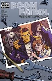 Doom Patrol: Weight of the Worlds no. 5 (2019 Series)