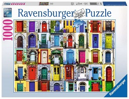 Doors of the World Puzzle - 1000 Pieces