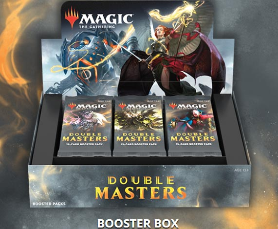 Magic the Gathering: Double Masters Booster Box (24 Packs)
