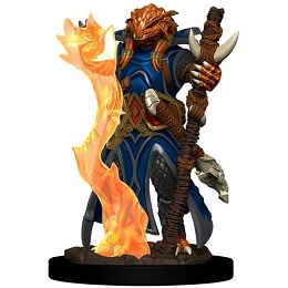 Dungeons and Dragons Fantasy Miniatures: Icons of the Realms Premium Figure: Dragonborn Female Sorcerer