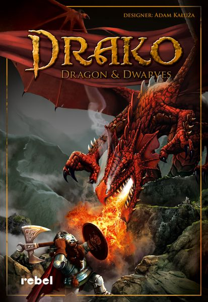 Drako: Dragons and Dwarves Board Game