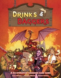 Drinks and Daggers Cooperative Board Game