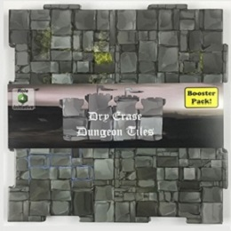 Dry-Erase Dungeon Tile Booster Pack: Graystone