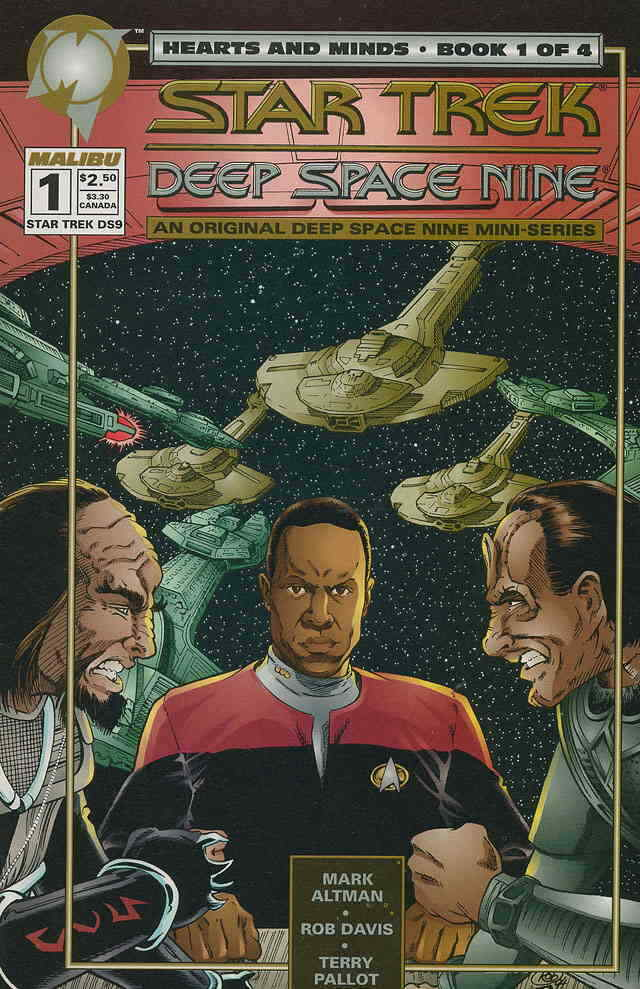 Star Trek Deep Space Nine Hearts and Minds (1994) Complete Bundle - Used