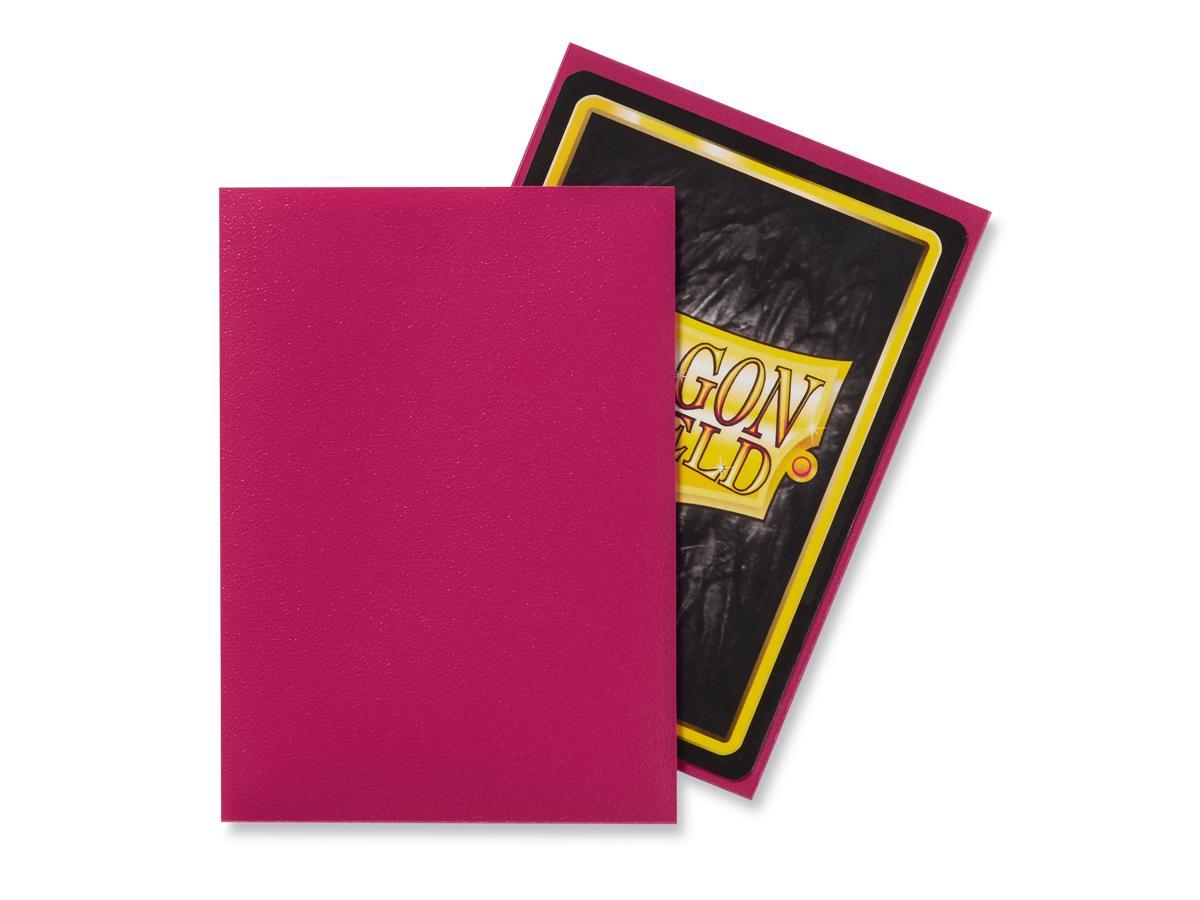 Sleeves: Dragon Shield: Matte Magenta: 100 Sleeves