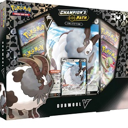 Pokemon TCG: Champion's Path Collection: Dubwool V Box