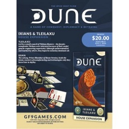 Dune: Ixians and Tleilaxu House Expansion