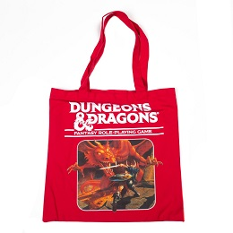 Dungeons and Dragons Red Tote Bag