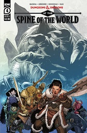 Dungeons and Dragons: At the Spine of the World no. 4 (2020 Series)
