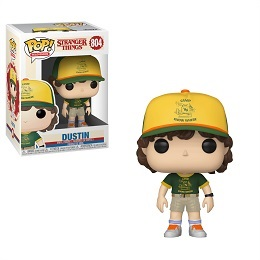 Funko POP: Television: Stranger Things: Dustin (at camp)
