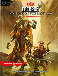 Dungeons and Dragons 5th Ed: Eberron: Rising from the Last War Adventure (Standard Ed)