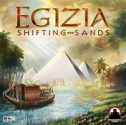 Egizia: Shifting Sands Board Game