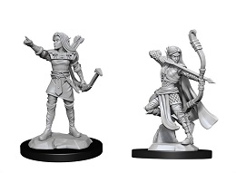 Dungeons and Dragons Nolzurs Marvelous Unpainted Minis Wave 13: Elf Female Ranger
