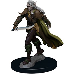 Pathfinder Battles: Premium Painted Figure: Wave 1 Elf Fighter Male