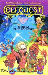 Elfquest: Siege at Blue Mountain (1987 Series) Complete Bundle - Used