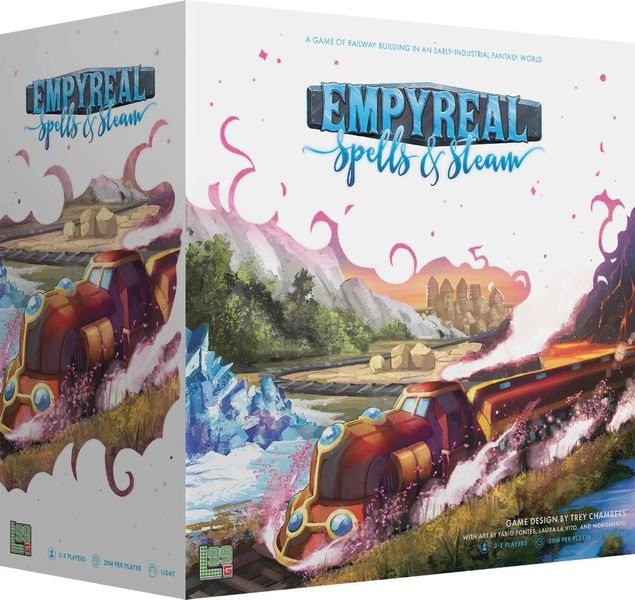 Empyreal: Spells and Steam Board Game