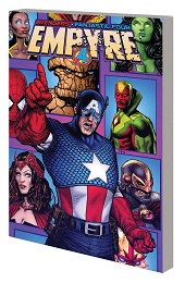Empyre: Captain America and The Avengers TP
