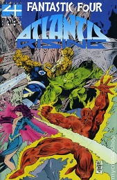 Fantastic Four: Atlantis Rising (1995 Series) Complete Bundle - Used
