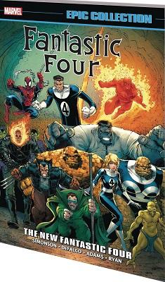 Fantastic Four Epic Collection: New Fantastic Four TP