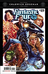 Fantastic Four no. 25 (2018 Series)