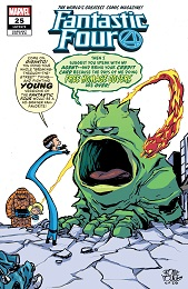 Fantastic Four no. 25 (2018 Series) (Young Variant)