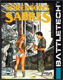 Battletech: Sorenson's Sabres Role Playing - USED