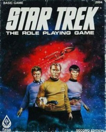 Star Trek RPG: Basic Game Box Set - Used