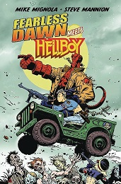 Fearless Dawn Meets Hellboy One-Shot (2020) (Mannion Cover)