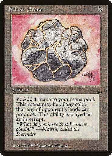 Fellwar Stone  (The Dark)