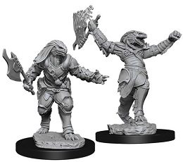 Dungeons and Dragons: Nolzur's Marvelous Unpainted Miniatures Wave 11: Female Dragonborn Fighter