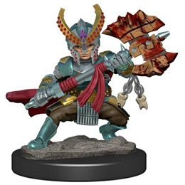 Dungeons and Dragons Fantasy Miniatures: Icons of the Realms Premium Figure: Halfling Female Fighter