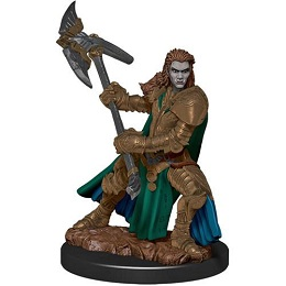 Dungeons and Dragons Fantasy Miniatures: Icons of the Realms Premium Figure: Half-Orc Female Fighter