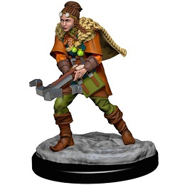 Dungeons and Dragons Fantasy Miniatures: Icons of the Realms Premium Figure: Human Female Ranger