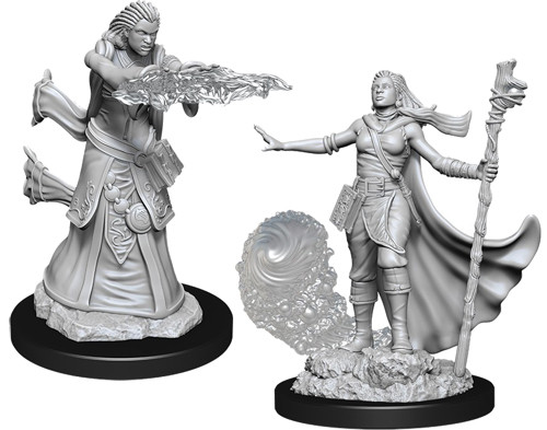 Dungeons and Dragons: Nolzur's Marvelous Unpainted Miniatures Wave 11: Female Human Wizard
