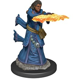Dungeons and Dragons Fantasy Miniatures: Icons of the Realms Premium Figure: Human Female Wizard
