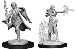 Dungeons and Dragons Nolzurs Marvelous Unpainted Minis Wave 13: Female Multiclass Warlock Sorcerer