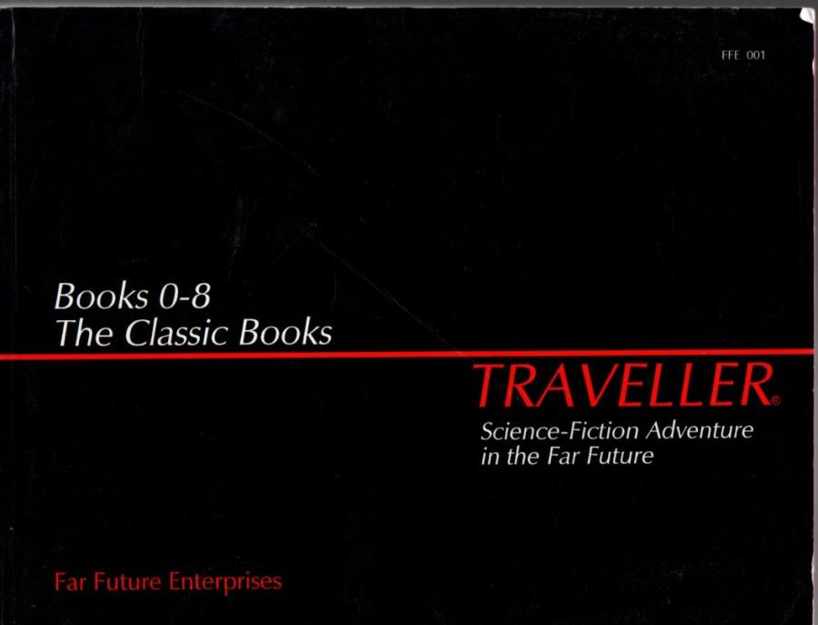 Traveller: Books 0-8: The Classic Books - Used